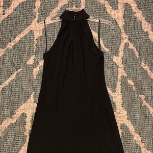 Classic high neck black dress - Ralph Lauren